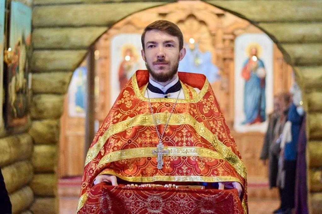 Штатный священник: иерей Николай Лихачёв